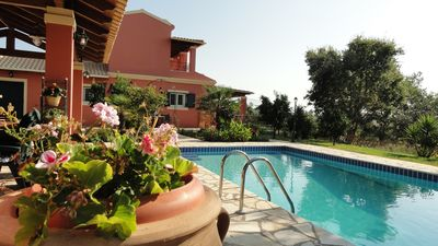 Photo for 3 bedrooms up to 8 people private villa with pool