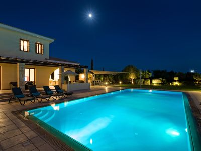 Photo for Stunning 5 Bed Villa With 12x6m Private Pool, Spa Pool And Stunning Sea Views