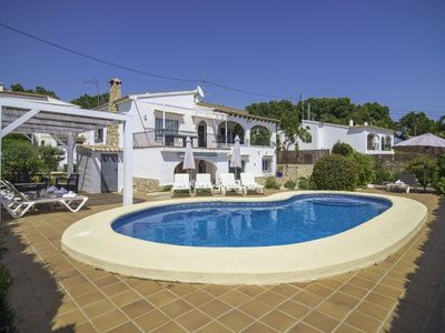 Photo for La Fustera Villa, Sleeps 10 with Pool, Air Con and WiFi