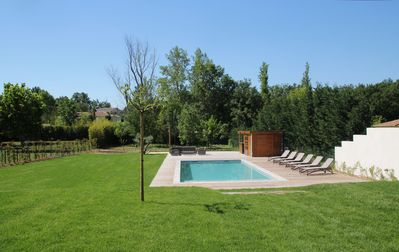 Photo for Modern Villa / House on a plot of 2500 m2 heated pool 12 * 5