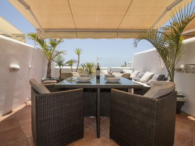 Photo for Luxury with the best views of the sea, sun, pool and relaxation
