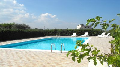 Photo for Relax at the Sea in Villa with Pool, Garden, Veranda, 2 Bedrooms and Car Park