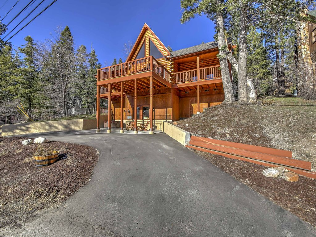 New Scenic 4br Big Bear Cabin W Private Hot Tub City