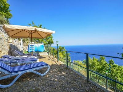 Photo for Praiano Holiday Home, Sleeps 4 with Pool, Air Con and WiFi