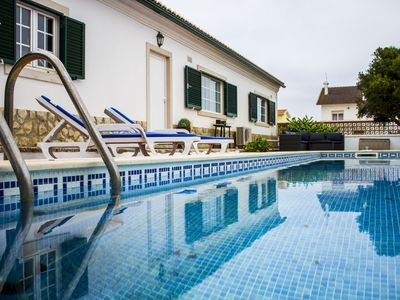 Photo for Private pool - Family - BrincosaSeaHouseEriceira