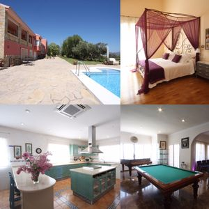 Photo for GALATEARURAL at 8 KM. BENIDORM, free WIFI, A / C, swimming pool, private barbecue