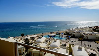 Photo for Spectacular 2 Bedroom End Unit on Sandy Beach at Las Palmas Resort  B-601