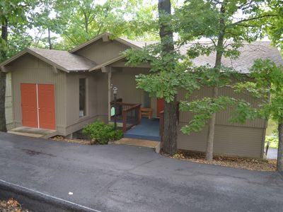 Photo for 3 bedroom, 4 bathroom home, with hot tub and fire pit located on the golf course