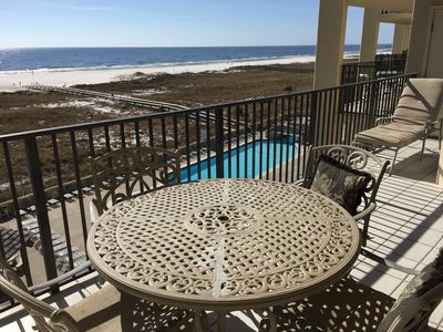 Photo for Spacious 3 Bedroom Condo on 4th Floor With Views of Gulf And Pool!