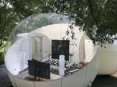 Photo for Fluffy Puffy Backyard Bubble Tent