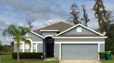 Photo for Executive 4 Bed 3 Bath Villa near Disney/Universal with Secluded Pool and Spa