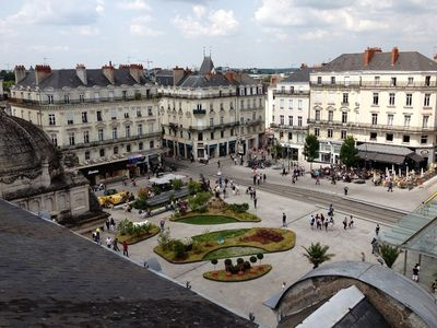 Photo for Charming 70m2 apartment in the heart of downtown Angers Place du Ralliement