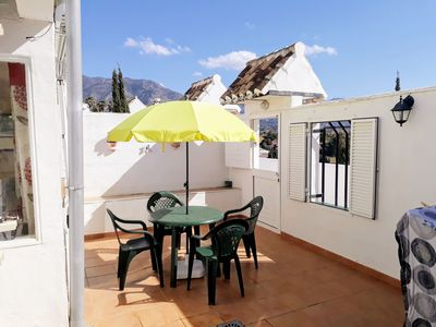 Photo for Spanish style Holiday Home Mijas golf,  large terrace, 1 bedroom sleeps up to 4