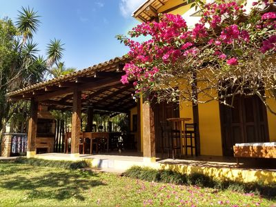 Photo for VILA GUAECÁ - Charm and Comfort 3 min from the Sea   5 ROOMS   WI-FI, SKY, AR