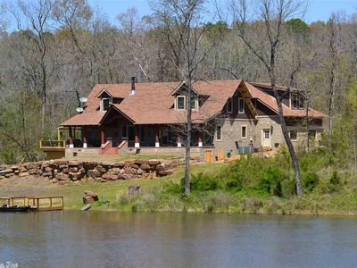 Photo for Experience the Little Red River; private boat dock and stocked oxbow