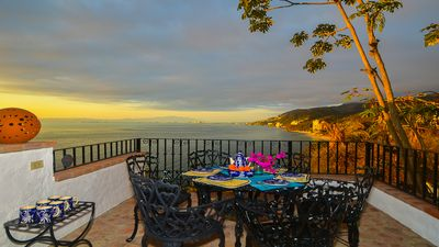 Photo for Private villa - 3 bdrm & 3 bath with private pool, ocean views close to  beach.
