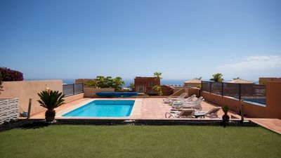 Photo for Stunning 3 Bedrooms 3 bathrooms. Costa Adeje. New Build. Private Heated Pool.