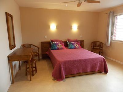 Photo for The Maloya **** Beautiful T2 with garden, accessibility PMR, pool & spa