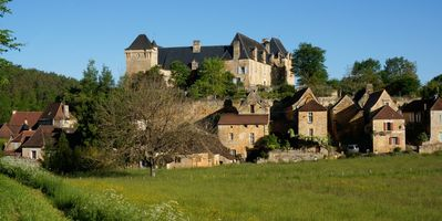 Village and Chateau -- Late Afternoon
