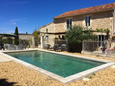 Photo for PROVENCAL MAS, quiet, EYRAGUES, ALPILLES, GD CONFORT - Private pool 10 pers.