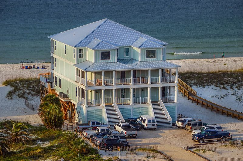 Castle In The Sand East Orange Beach Al 9 Bedroom Sleeps Up To 26 Private Pool