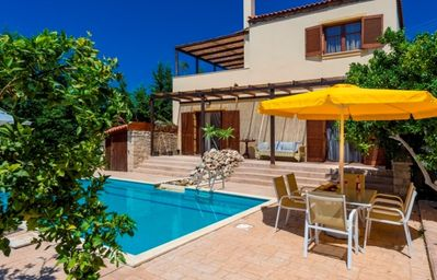Photo for Nicely Decorated Villa with Private Pool, Wifi, BBQ and Breathtaking Views!!