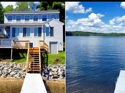 Photo for Lake life summers, peaceful falls, and snowmobile winters!