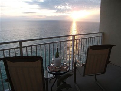 Morning dolphin watching or evening sunsets. You will never tire of the view!