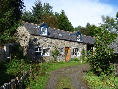 Photo for Self catering cottage on organic smallholding in Highland Perthshire