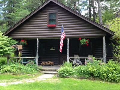Claryville Cabin with 900 ft Trout River in the Catskill Mountains
