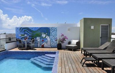 Roof toop pool and terrace