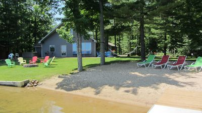 Photo for Hidden Gem Cottage on Bass Lake with Hot Tub - Summer Memories Last Forever :)