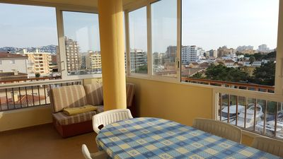 Photo for Large apartment, spacious, well equipped, very sunny with fantastic view canal.