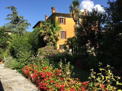 Photo for VILLA IN TUSCANY BETWEEN SEA, MOUNTAINS, AND ART