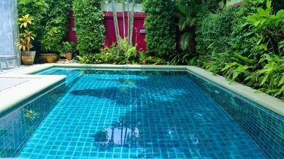 Private 2 bedroom pool villa at jomtien