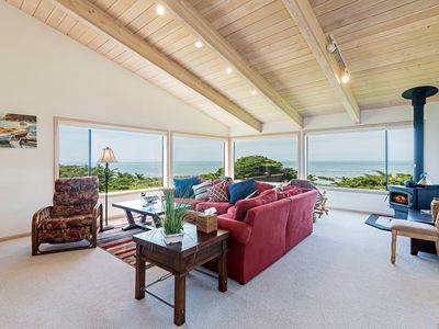 Photo for Paradise on the bluffs, private home w/ ocean views and patio seating