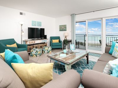 Photo for Emerald Isle Unit 610 Gulf Front Relax and enjoy this beautiful unit with incredible views!