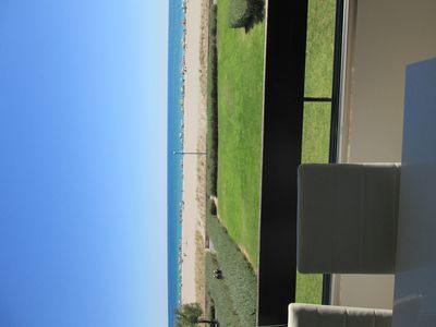 Photo for RENT F2 sea view IMPRENABLE / Facing garden and beach / parking / wifi