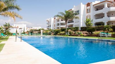Photo for 2 bed garden apartment near Fuengirola and golf 35