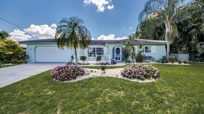 Photo for CAPE CORAL, POOL VILLA, FREE WIFI, POOL HEATING, BUILDING PLOTS LOCATED