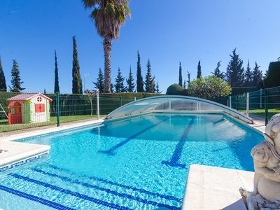 Photo for Club Villamar - Precious holiday villa with private pool, tennis court, fitness room, perfect loc...