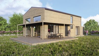 Photo for Gud Jard Chalet No. 18-Living healthy design holiday home with exclusive features
