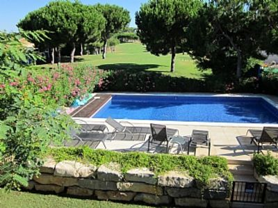 Photo for Villa With Private Pool Situated On Vila Sol Golf Course