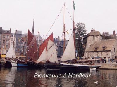 Photo for Very nice family house in Honfleur Deauville prox