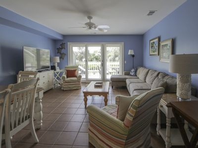 Photo for Gorgeous dual-level ocean view unit located in Wild Dunes