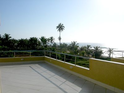 Photo for BRISA'S ADDRESS - 4 Suites and Terrace, Private Beach Access