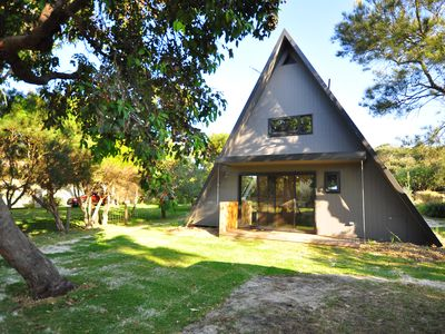 Photo for Renovated classic A-Frame in the quiet end of Cape Woolamai