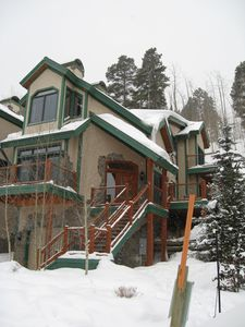 Photo for Ski-in/Ski-out 4 BR Beautiful Townhome Breckenridge, CO