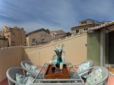 Photo for Luxury Apartment in historic old town with wonderful roof terrace