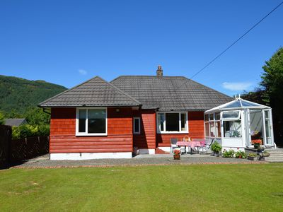 Photo for Cedar Cottage at Rashfield nr Dunoon-sleeps up to 6-Pet Friendly(1 max)